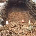 Construction piscine terrassement